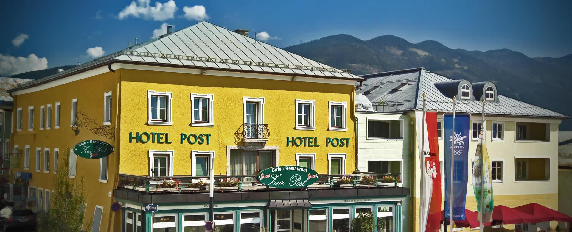 Gesundheits Vital Hotel Post In Radstadt Salzburger Land