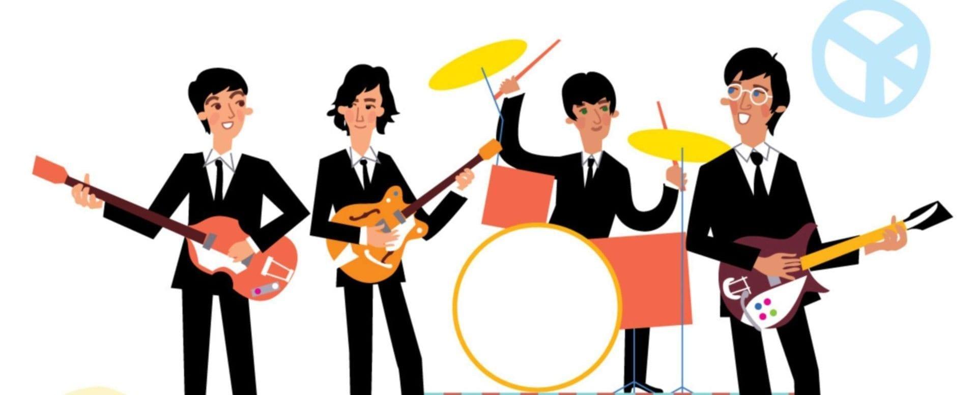 Beatles Film Help in Obertauern