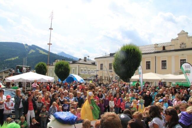 Kinderfest in Radstadt im Salzburger Land