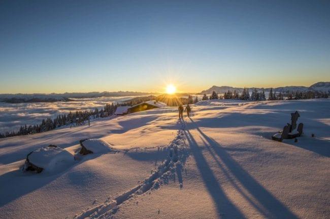 Winterwanderung am Rossbrand