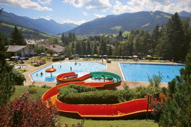 Alpenfreibad Radstadt, Ausflugsziel im Salzburger Land