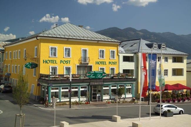 Aussenansicht Hotel Post Sommer