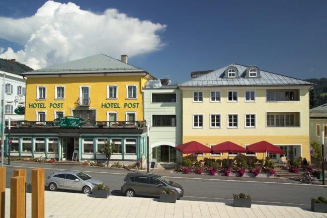 Sommeransicht Hotel Post Radstadt