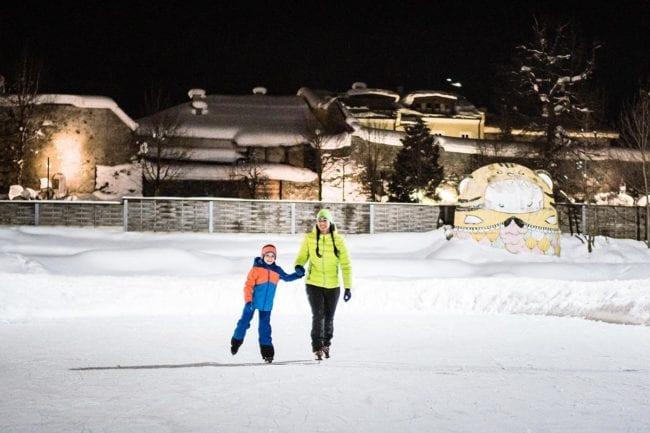 Eislaufen · Winter- & Skiurlaub in Radstadt, Ski amadé, Salzburger Land