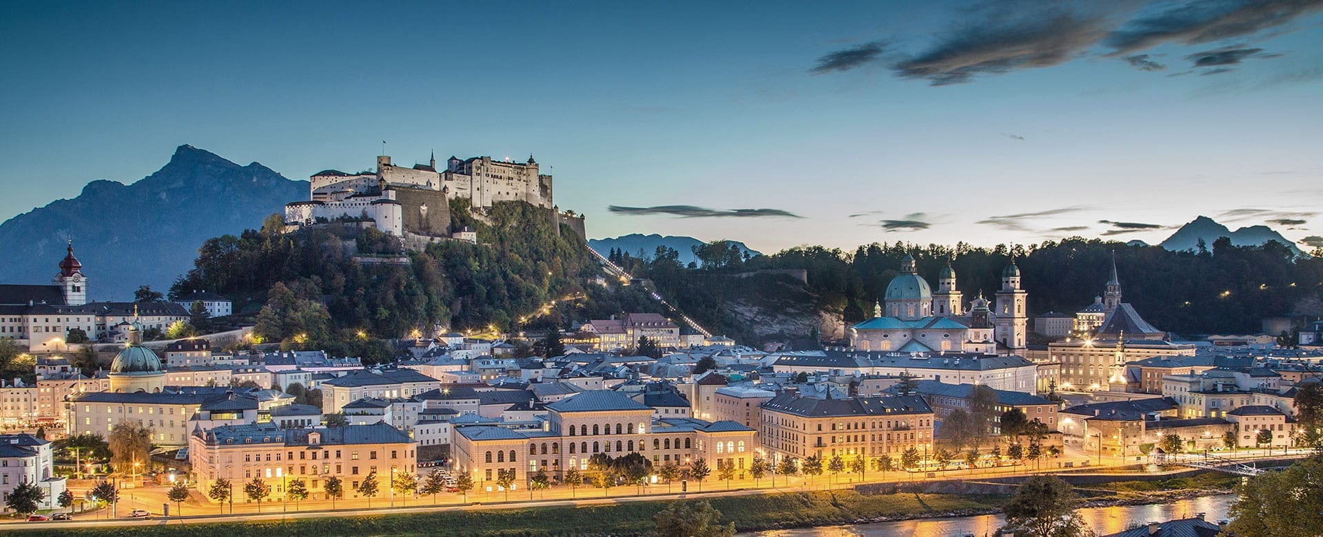 Festspielstadt Salzburg, beliebtes Ausflugsziel