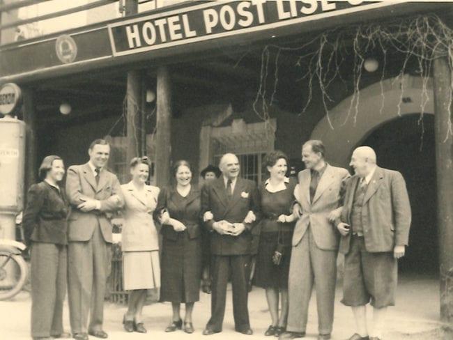 Hotel Post früher