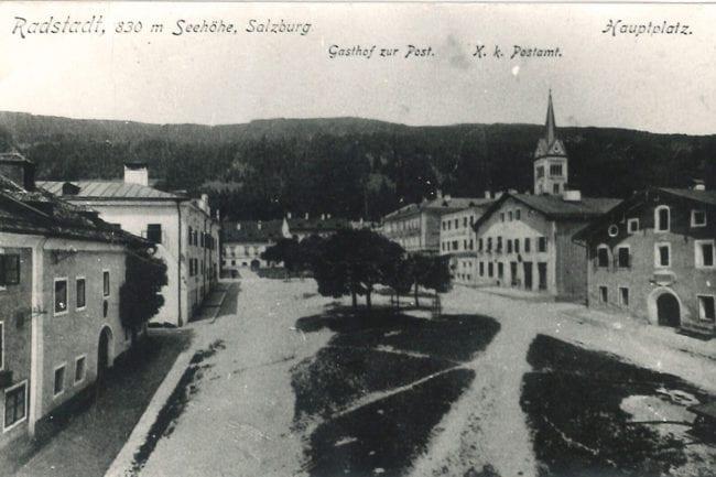 Radstadt früher