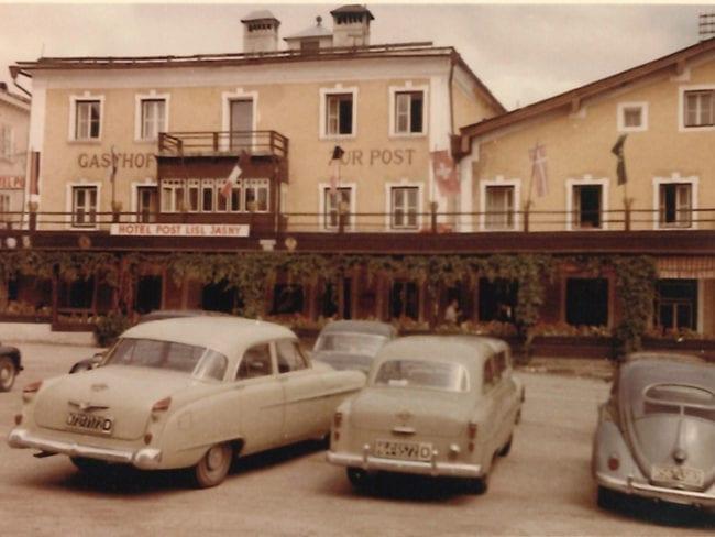 Hotel Post Radstadt früher