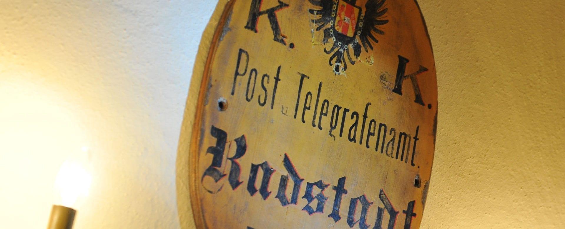 Geschichte Tradition 3 Gesundheits Vital Hotel Post In Radstadt