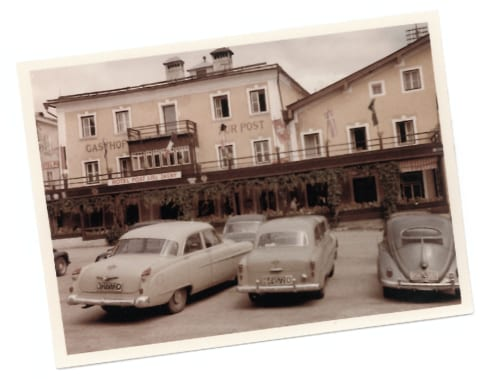 Geschichte Tradition Posthotel Radstadt 1