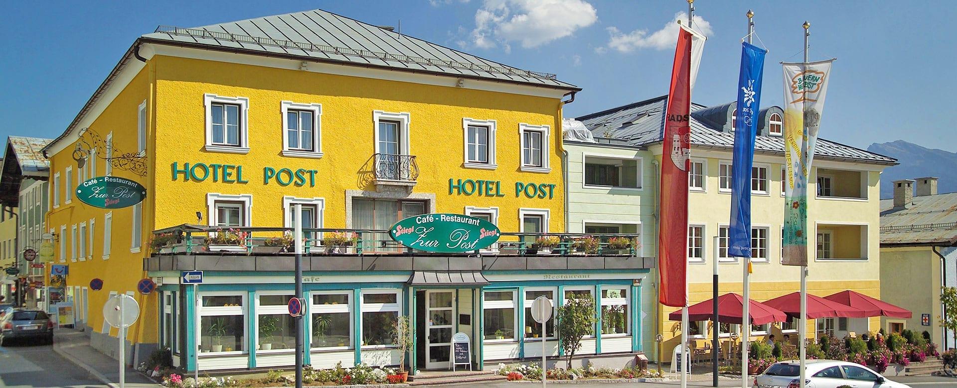 Anreise zum Hotel Post in Radstadt, Salzburger Land, Ski amadé