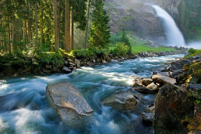 Krimmler Wasserfälle, Ausflugsziel im Salzburger Land