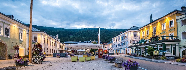 Ort Radstadt · Hotel Post