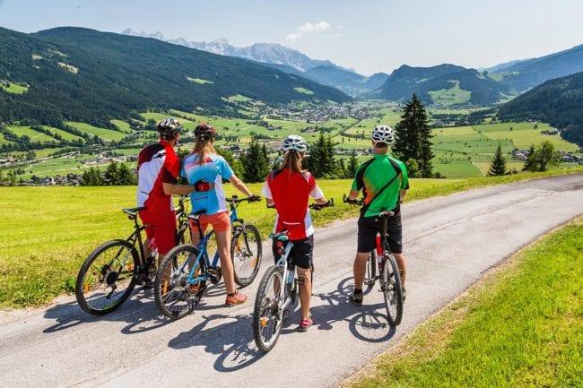 Sommerurlaub mit Mountainbiken in der Region Ski Amadé