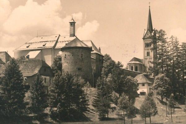 Die alte Stadt Radstadt im Gebirge