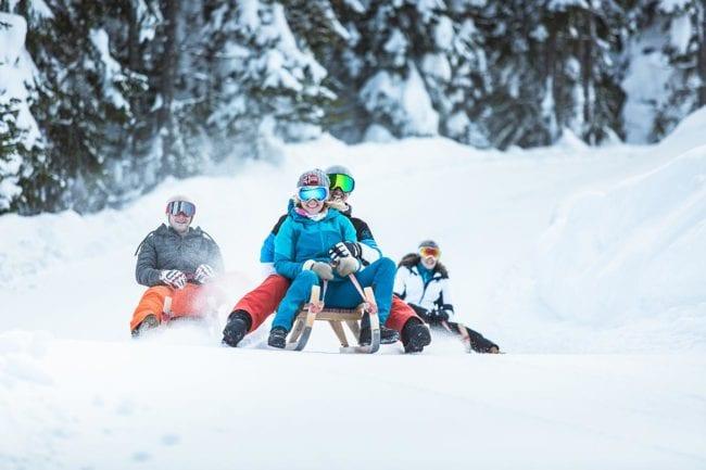 Rodeln · Winter- & Skiurlaub in Radstadt, Ski amadé, Salzburger Land