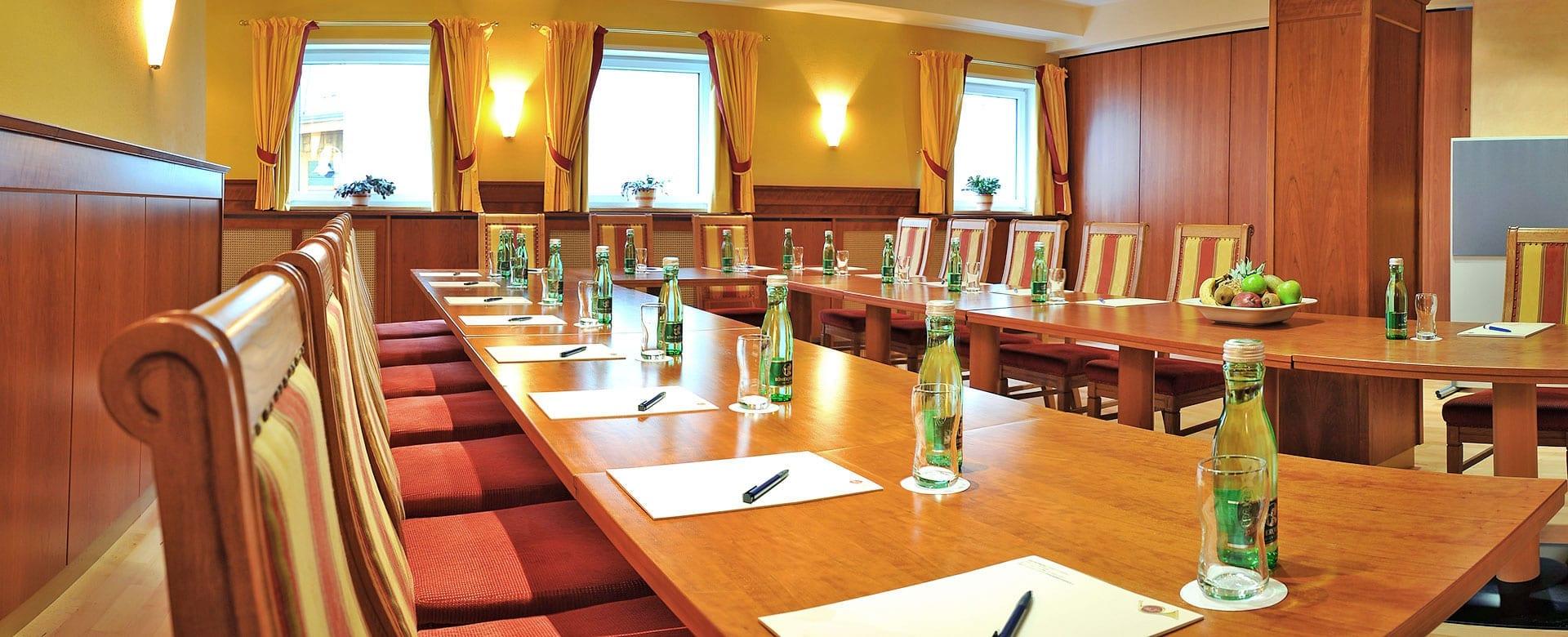 Seminare in Radstadt –Seminarraum im Hotel Post, Salzburger Land