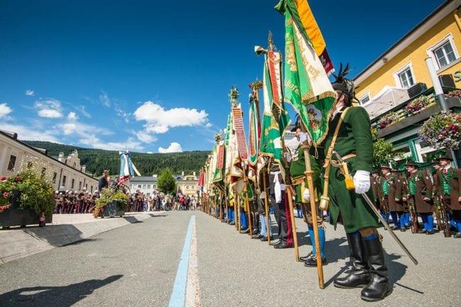 Gardefest in Radstadt · Tradition & Brauchtum