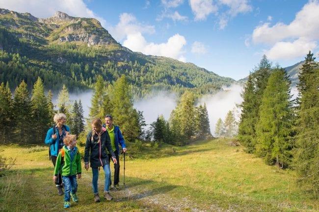 Wandern · Sommerurlaub in Radstadt · Hotel Post