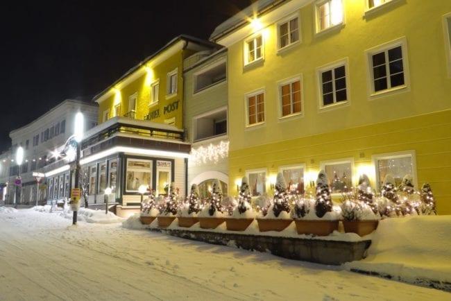 Winteransicht Hotel Post Radstadt